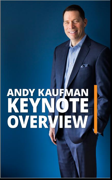 Keynotes - Project management keynote speaker Andy Kaufman